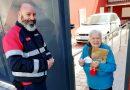 Record Europa – Bombeiros de Camarate levam medicamentos aos mais frágeis