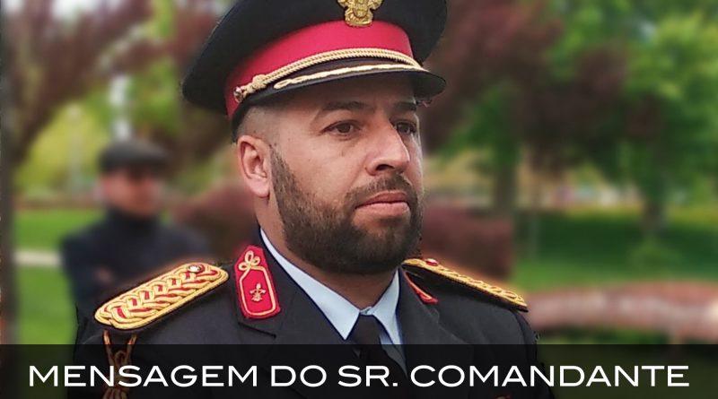 Mensagem do Sr. Comandante Luis Martins